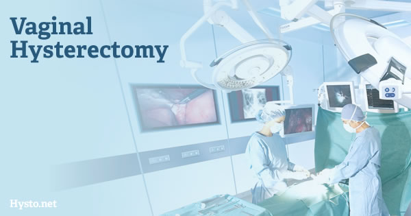 Vaginal Hysterectomy incisions